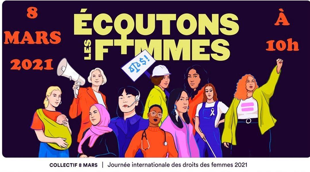 La Journée des droits des femmes à AAF